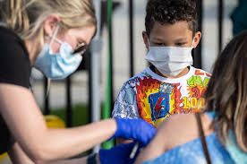 Over 1.1 Million Pediatric Covid-19 Cases In Past 5 Weeks Reported In U.S.