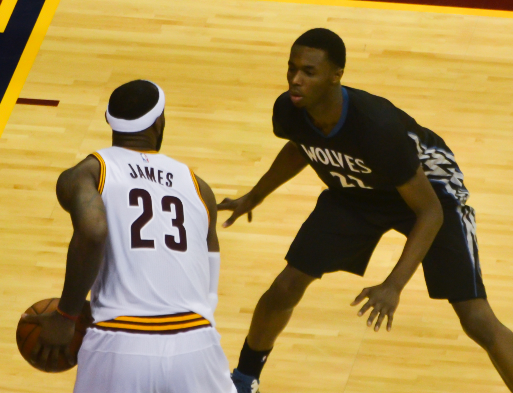 LeBron James And Andre Wiggins