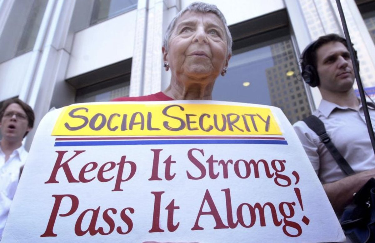 Social Security Benefits. Image Credit: Twitter